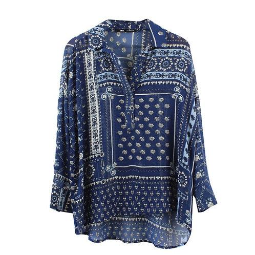 S\M | ZARA חולצת בנדנה