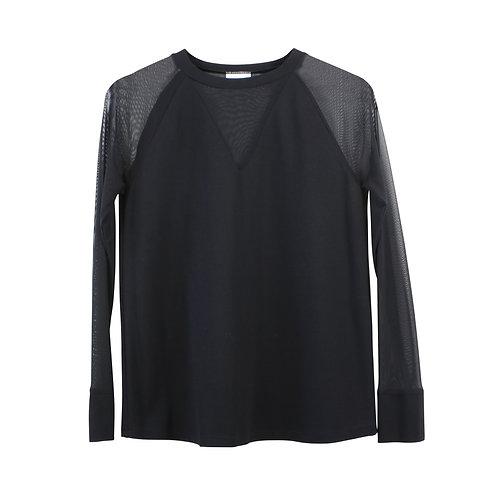 S | ZUCKER חולצת שקיפויות