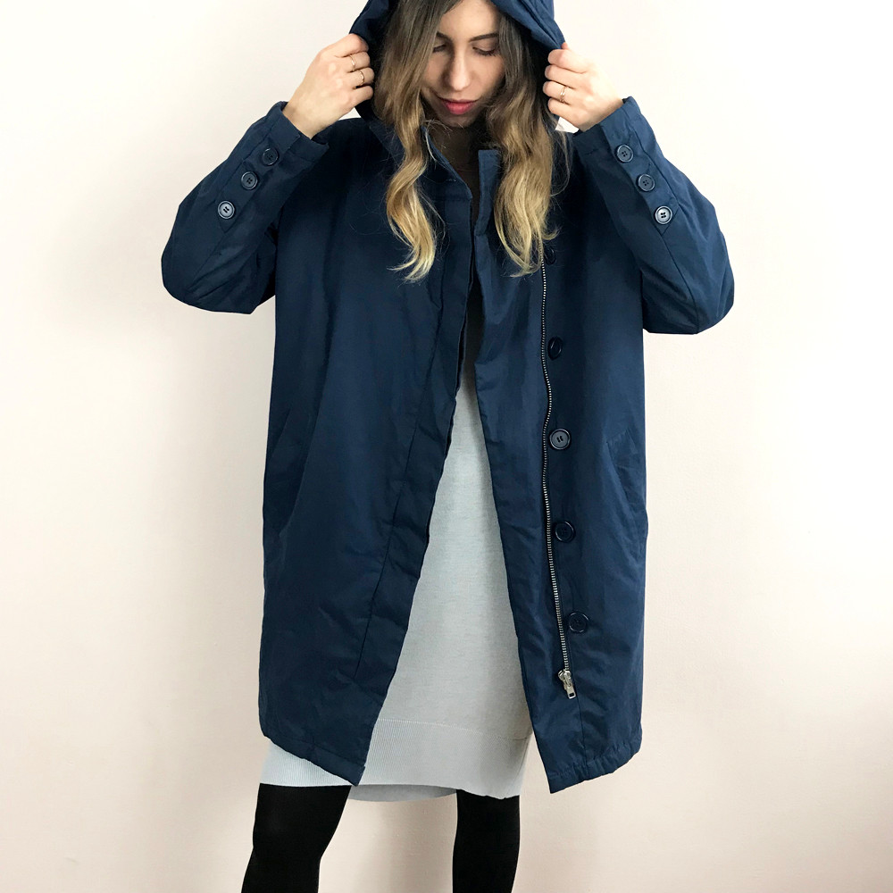 מעיל פוך כחול: DR. DENIM