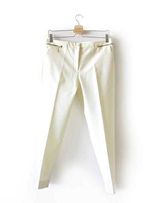 מכנסיים צבע חלבי מידה 38