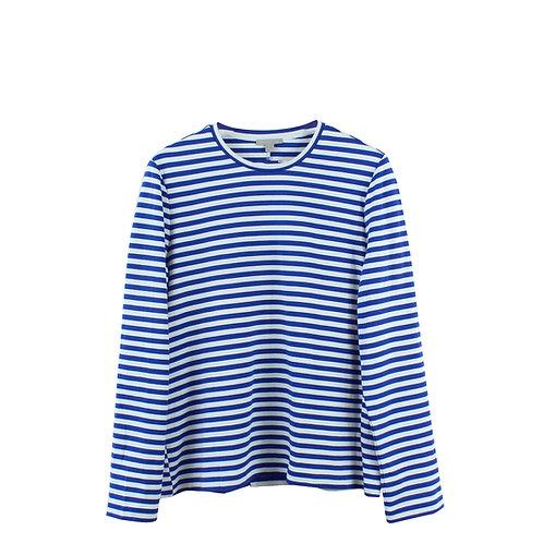 M | COS  חולצת פסים כחול ותכלת