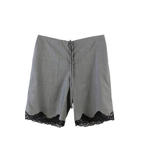 M/L   ALEXANDER WANG lace trim shorts