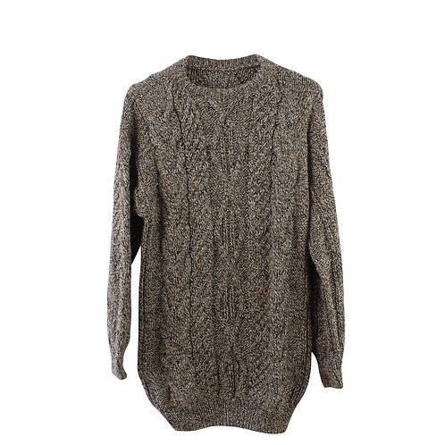 S | סוודר סרוג ארוך