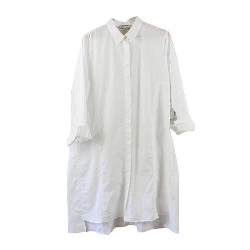 L | Acne Studios שמלה מכופתרת לבנה חדשה