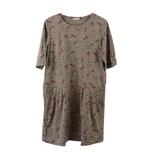 L | Cath Kidston שמלה פרחונית