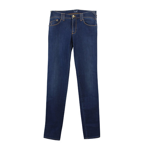 XS| ARMANI JEANS סקיני ג׳ינס כחול כהה