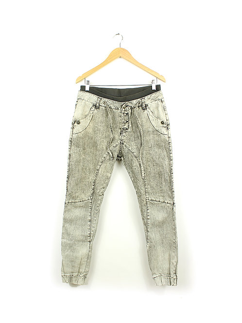 ג'ינס אפור ווש מתאים ל38