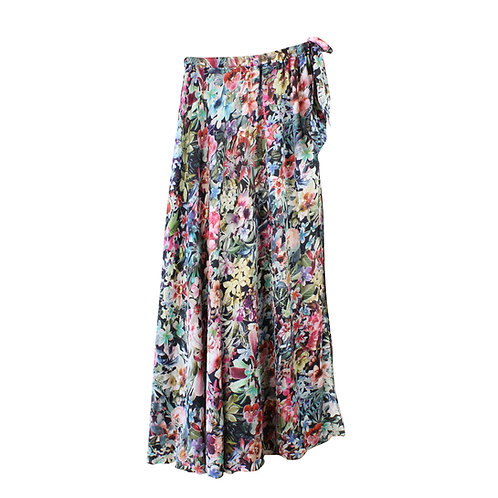 S\M | PIOO PIOO חצאית שסע פרחונית
