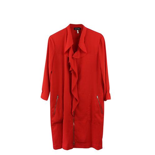XL | ARMANI JEANS שמלת רוכסן אדומה