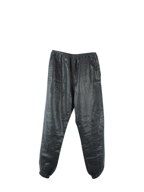2 | SARAH BRAUN  מכנסי פישתן מבריקים