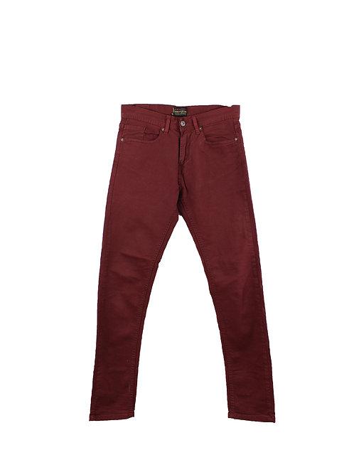 M | ZARA ג׳ינס בורדו