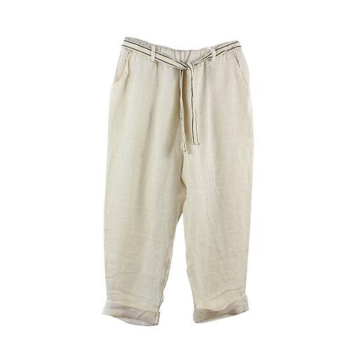 M/L | מכנסיים פשתן