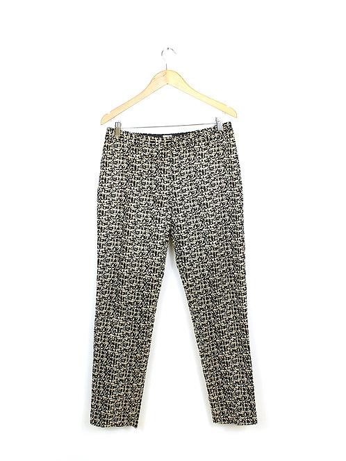 40-מכנסיים מחוייטות ברוקד מטאלי