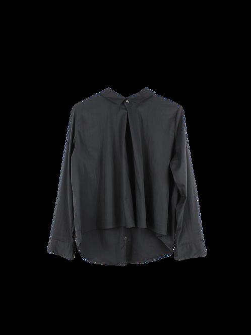 42   BRANT חולצה מכופתרת שחורה