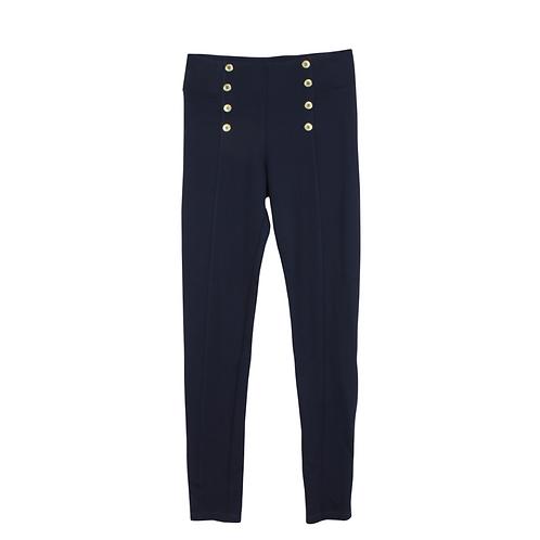 M | ZARA מכנסי טיץ כפתורים