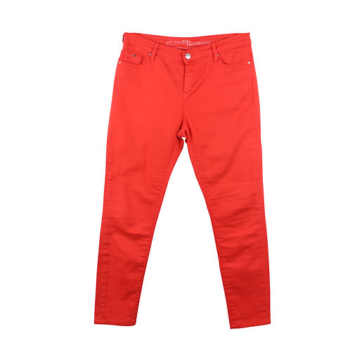 M |  GAS  סקיני ג׳ינס אדום