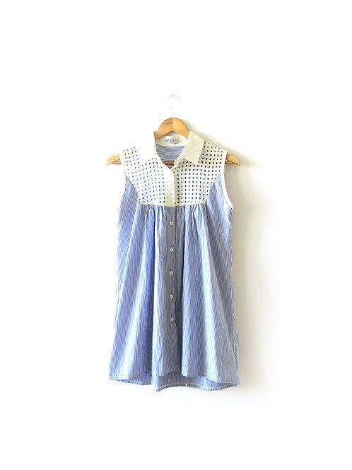 S-M טוניקה- שמלת פסים מידה
