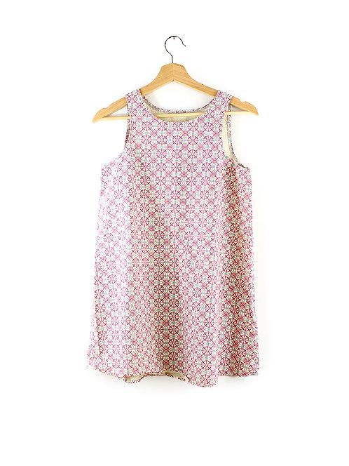 S שמלת מיני/טוניקה גאומטרי