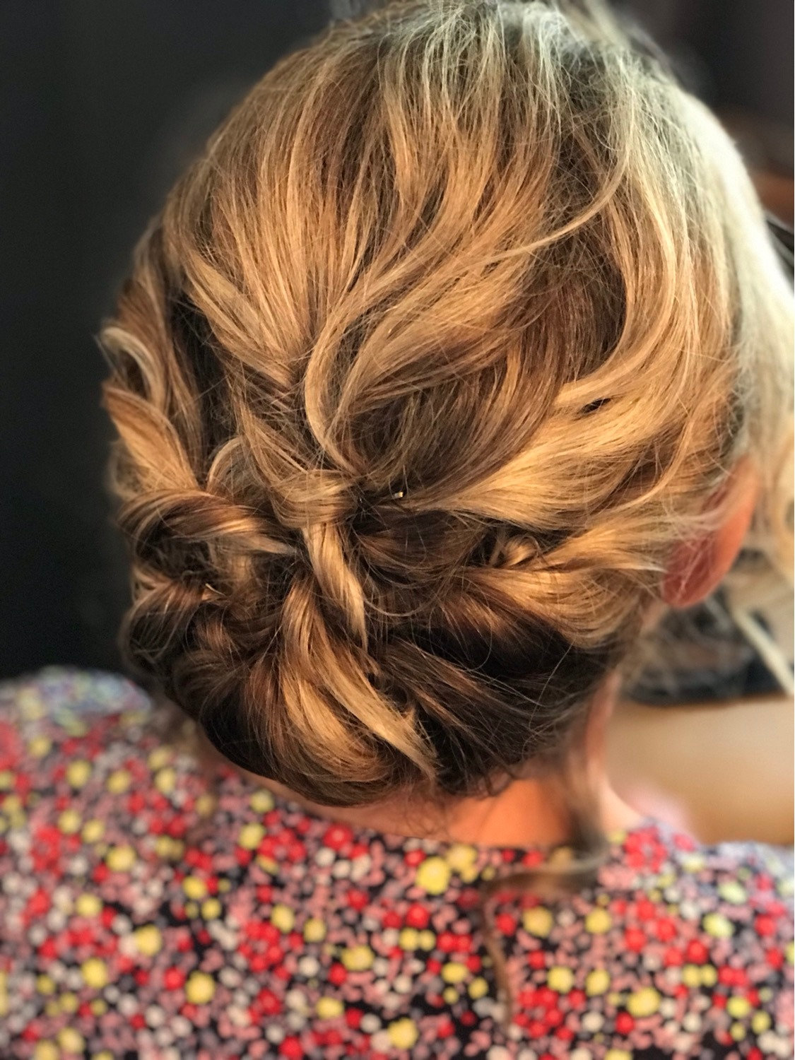 Mother Of Bride Hair Styling