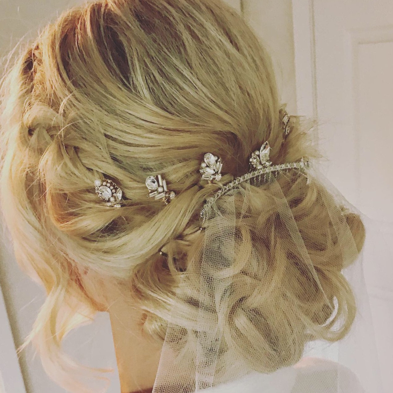 Bride's Hair Styling