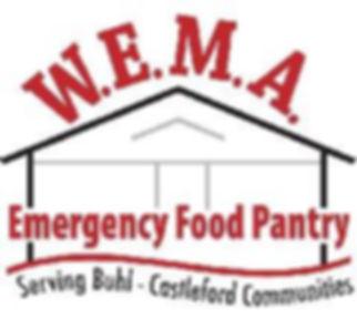 W.E.M.A. Emergency Food Pantry Logo