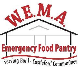 W.E.M.A. Emergency Food Pantry Logo