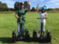 Father & daughter at Segway Lakeview