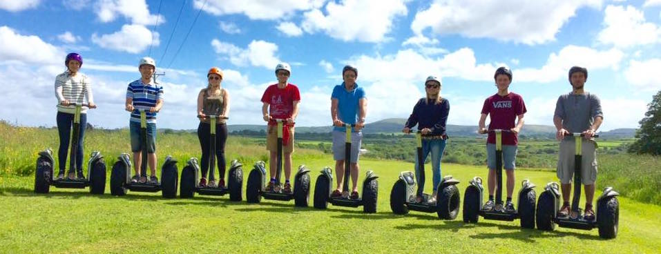 8 on Segways summer