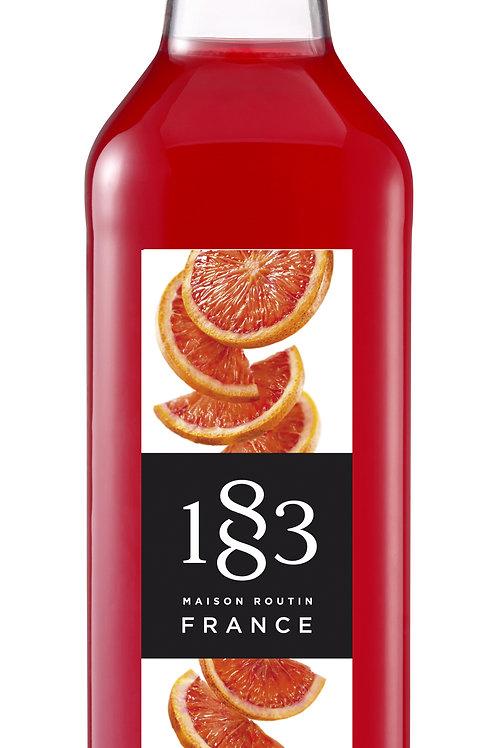 Blood Orange 1883 Syrup 1L