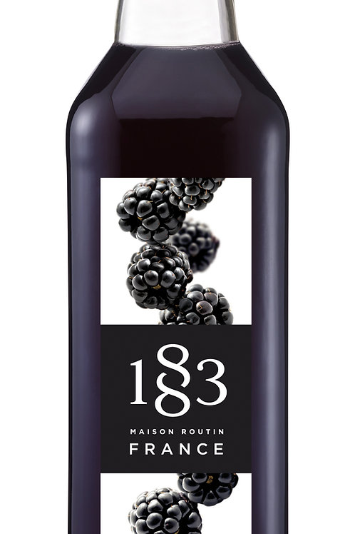 Blackberry 1883 Syrup 1L