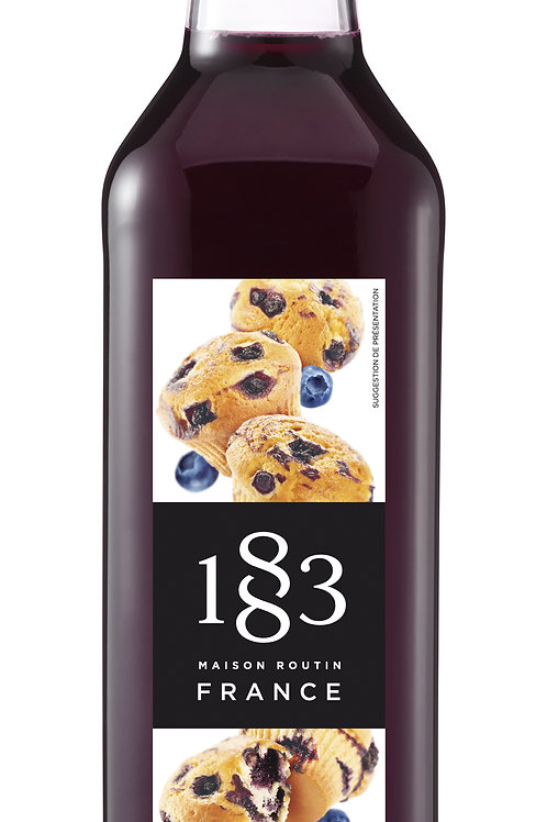 Blueberry Muffin 1883 Syrup 1L