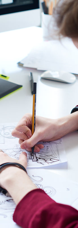 Drawing a storyboard