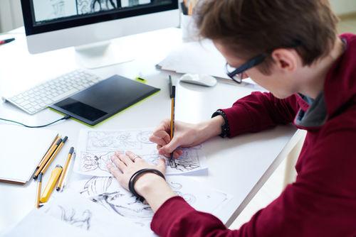 Tegne en storyboard