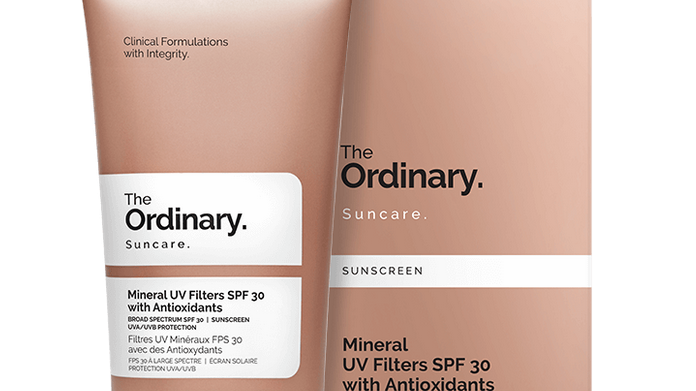 Mineral UV Filters SPF 30 with Antioxidants  50ml