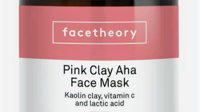 Facetheory Pink CLay AHA Face Mask 180ml MK1