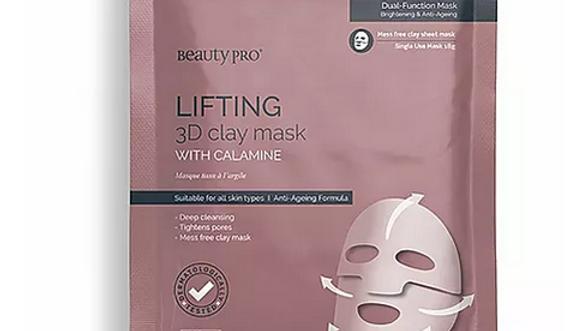 Beauty Pro Lifting 3D Clay Mask 18g 1 Single Use Mask