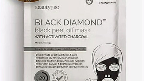 Black Diamond Peel off Mask with Activated Charcoal 7g