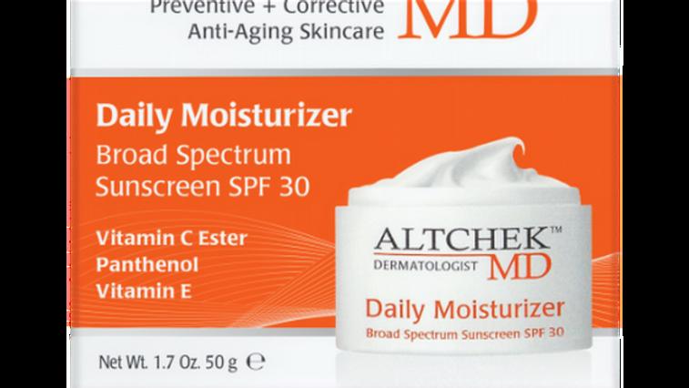 ALTCHEK MD DAILY MOISTURISER WITH SUNSCREEN SPF 30 1.7oz/50ml