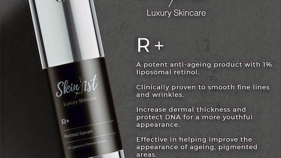R+ 1% Retinol Serum 30ml