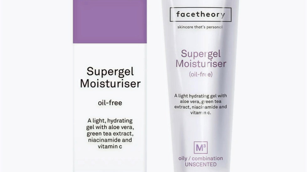 Facetheory Supergel Moisturiser Oil-Free 50ml M3