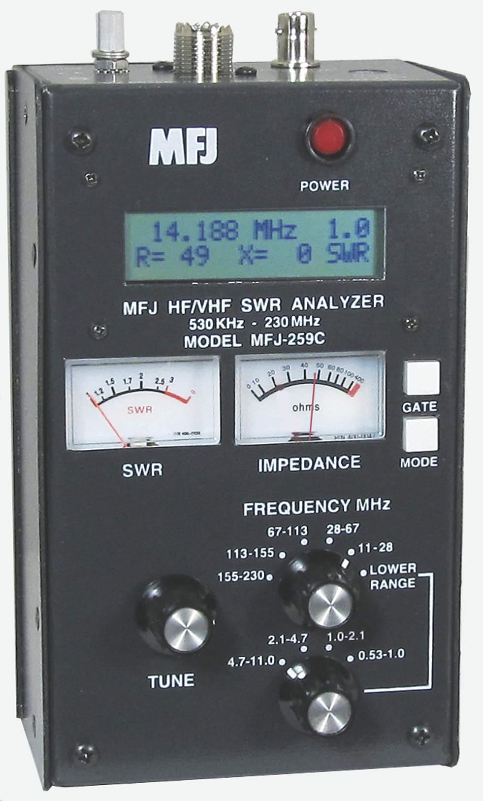 #1 MFJ-259C SWR Analyzer