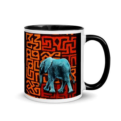 Caddelle Big 5 Elephant Mug