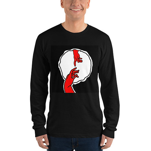 In a Hole Long sleeve t-shirt
