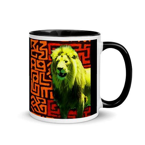 Caddelle Big 5 Lion Mug
