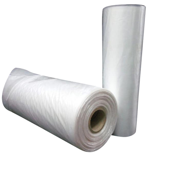 PLAIN HDPE BAG ON ROLL  (WITH PERFORATED LINE)