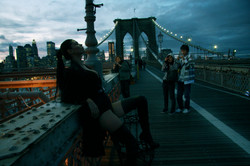 Paloma Brooklyn Bridge