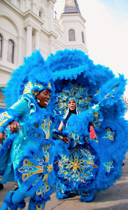 Big Chief and Queen