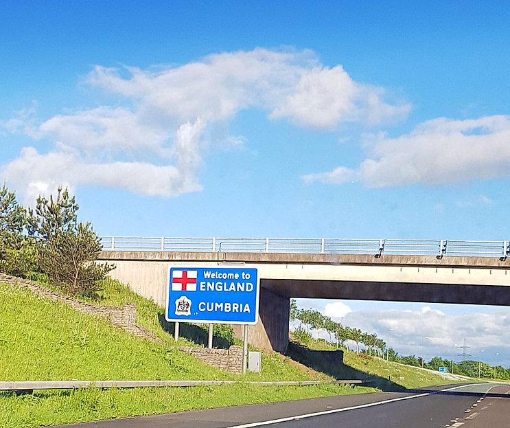 Cumbria sign