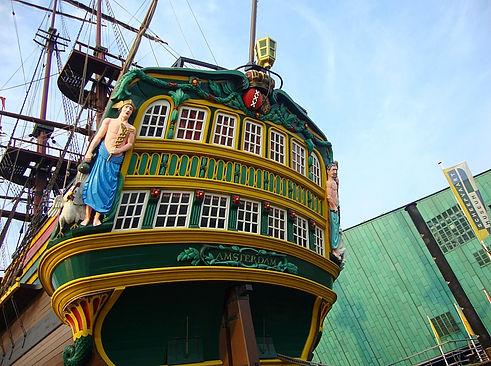 East Indiaman ship museum Amsterdam