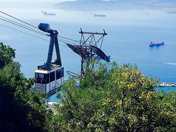 Gibraltar Rock cable car